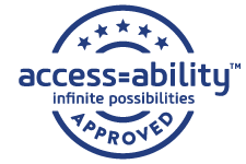 Access=Ability Stamp of Approval logo