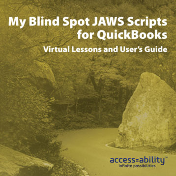 My Blind Spot JAWS Scripts for QuickBooks