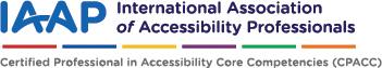 IAAP Certification Logo CPACC